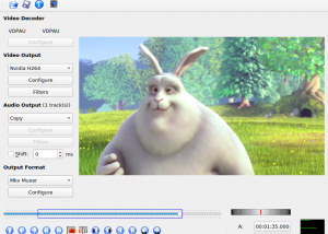 Full Avidemux for Mac OS X screenshot