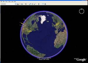 Full Google Earth for Mac OS X screenshot