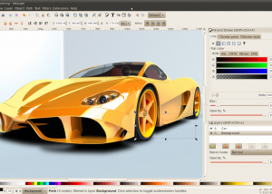 Full Inkscape for Mac OS X screenshot