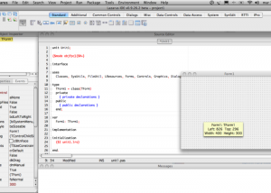Full Lazarus for Mac OS X screenshot