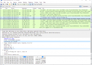 Full Wireshark for Mac OS X screenshot